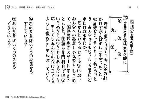 中学国語 文法19ch